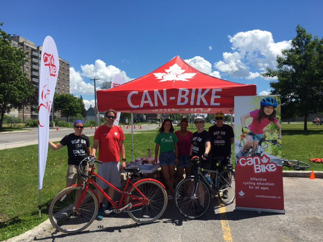 Shoutout to @OfficialCANbike cheering on everyone cycling. #CanRoadCha...