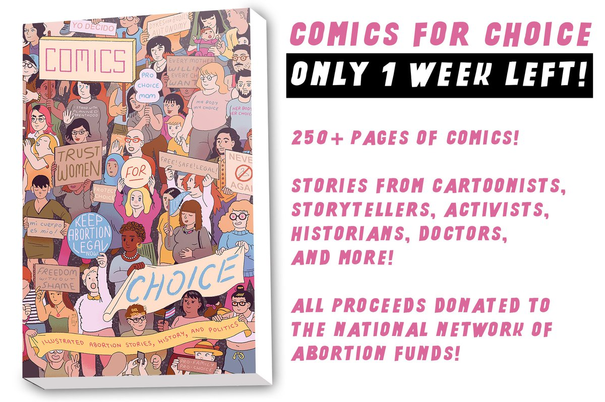 1 more week to get this great book & support @abortionfunds which keep  choice accessible! ...