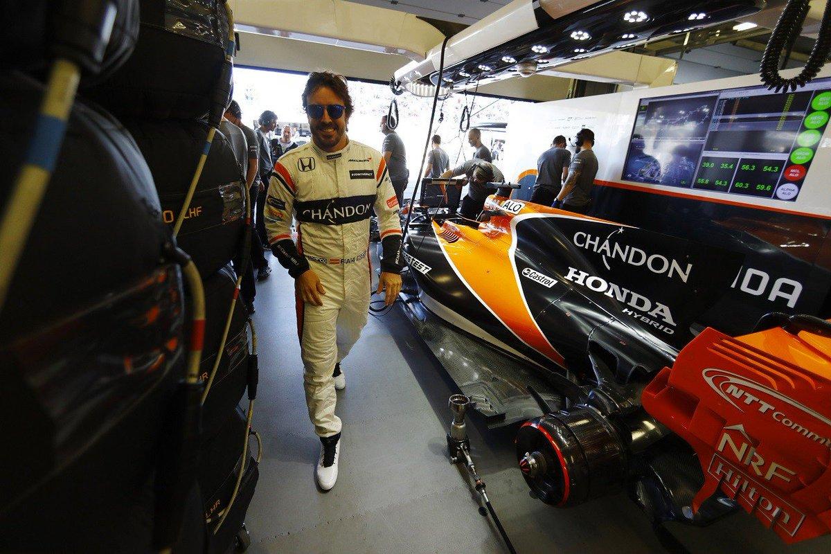 40位降格のアロンソ「今季初入賞は大きすぎる夢だが、諦めるつもりはない」マクラーレン・ホンダ F1土曜 #F1 #f1jp https://...