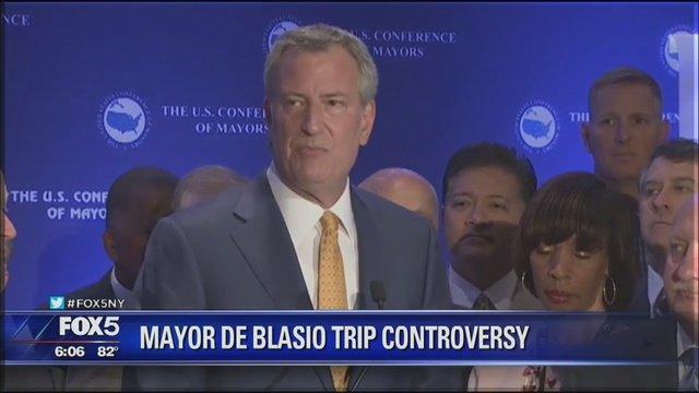 Controversy stirs over Mayor de Blasio's Miami trip https://t.co/VUbumI5Ngu