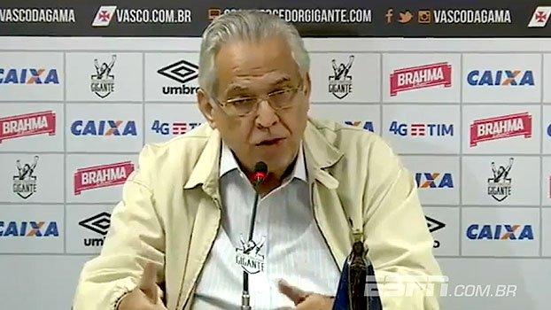 Eurico crava jogo com Fla em São Januário e garante permanência: 'Vasco precisa muito de mim' https://t.co/kaZaRBlYj4