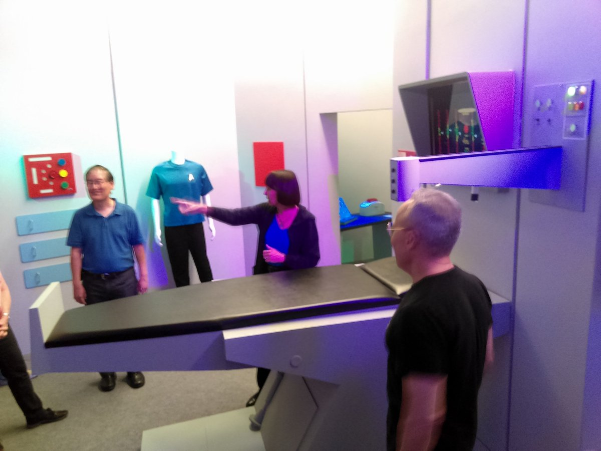 Sickbay with @deniseokuda @MikeOkuda and Doug Drexler during The Ultimate Insider Weekend!  #StarTrek #CBS #Sickbay #Ultimate #FunTimes<br>http://pic.twitter.com/zNf5F0MUO2