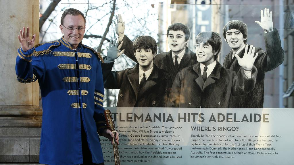 Lord Mayor Martin Haese to Sir Paul McCartney: We've got to get you into our lives #newsADL https://t.co/05VK9HKTH7