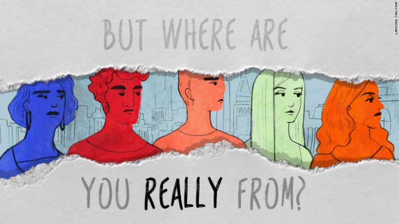 """Stop asking people where they are """"really"""" from, @tanzinavega says. Read her story & share yours  https://t.co/1P7kAar3Dx#whereimreallyfrom"""