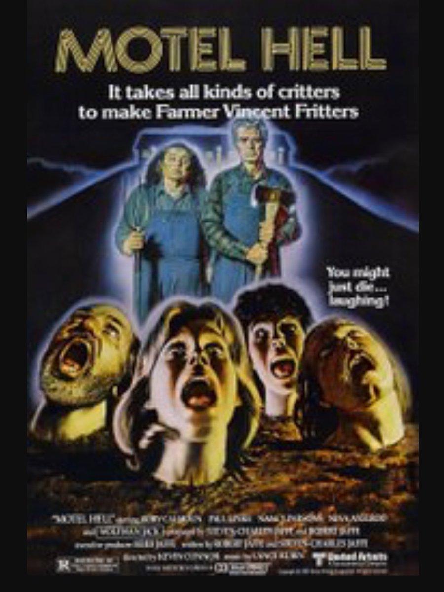 THE 1980 #Horror #Movie #MotelHell is on #CometTV TONIGHT! @WatchComet