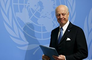 #UN Syria envoy has high hopes for first meeting of #Putin and  #Trump at #G20 https://t.co/IUpGSMZ3TY