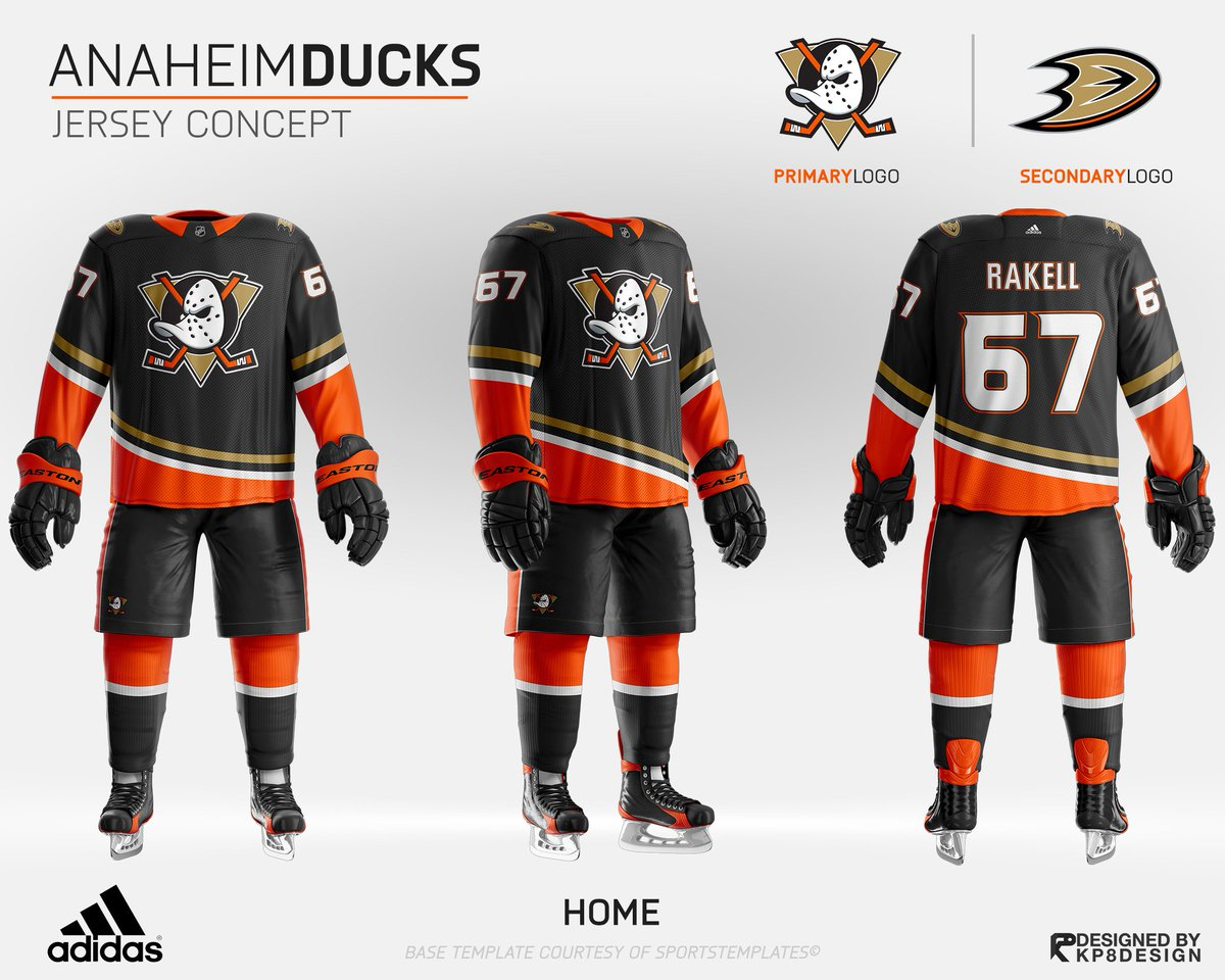 timeless design 6c18e 14144 Hearing the new AnaheimDucks third jersey may be black with ...