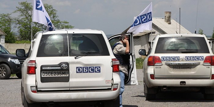 Minister of state security of the #LPR:#Ukraine regime are preparing provocations against #OSCE observers on the border with #Crimea. <br>http://pic.twitter.com/3J0lEw2F1B