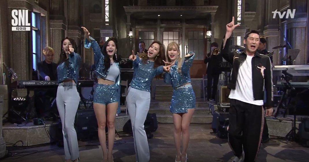 T-ara receive praise for their hilarious skits on 'SNL Korea' https://...