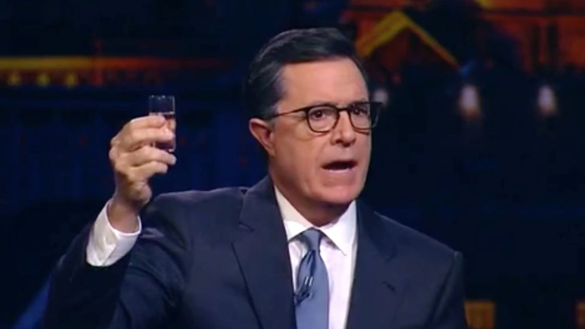 Stephen Colbert made a very big announcement on a Russian late-night show https://t.co/tOBYFUqYmw