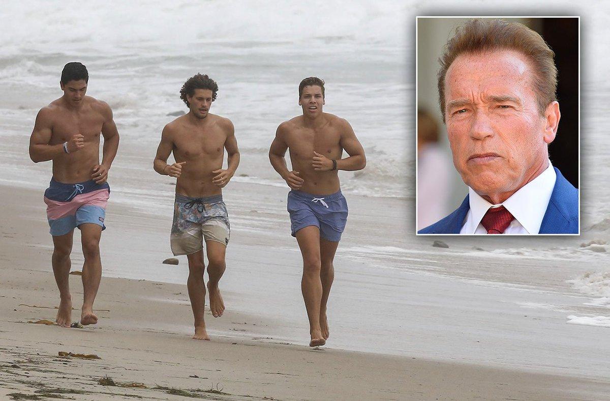 """National Enquirer on Twitter: """"Arnold Schwarzenegger's Son ..."""