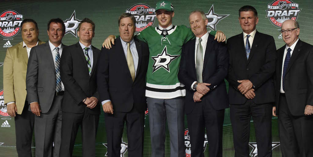 Our Central Division draft grades are in.  Blues, Stars: 👍 Wild, Black...