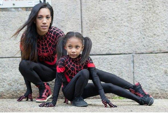 Spidey #family by spiderwoman_mcg #cosplay  https://www. facebook.com/SpiderwomanMCG  &nbsp;  <br>http://pic.twitter.com/FRPPrF7azK