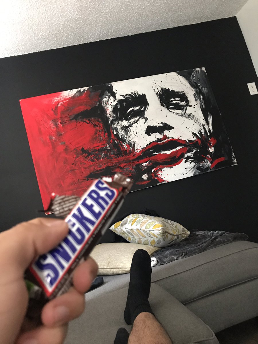 Eat a snickers man, you're not yourself when you're hungry... https://...