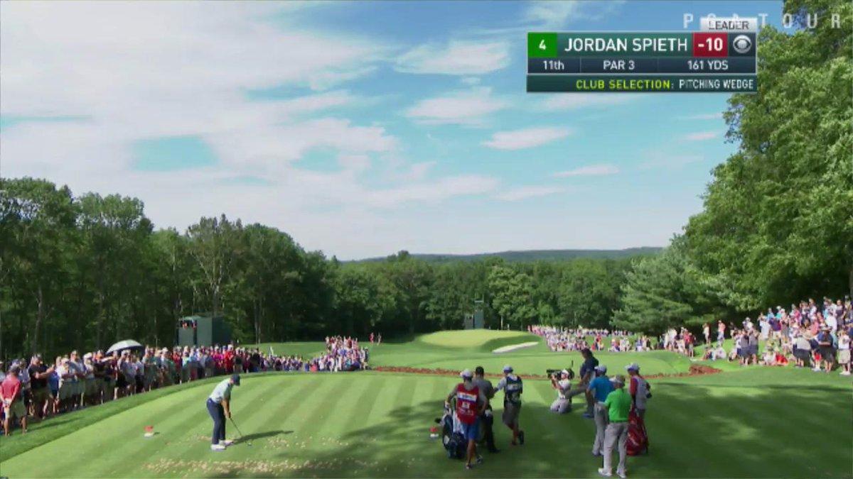 Jordan Spieth doing Jordan Spieth things.  4 birdies in 6 holes. Leade...