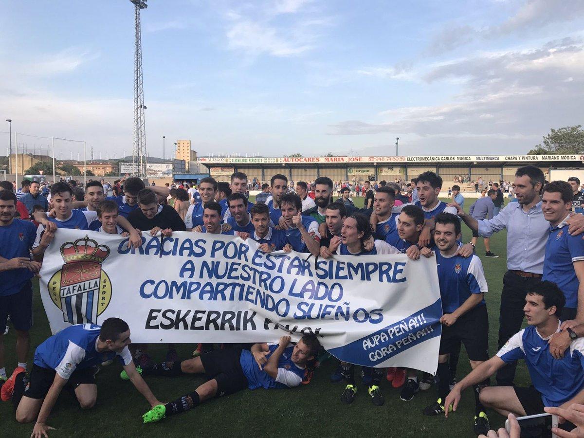 DESDE LA BANDA - FÚTBOL NAVARRO (DLB-FN). La Peña Sport asciende a Segunda B.