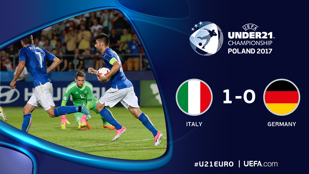 ⏰ Full time ⏰  ⚽️ Bernardeschi 🇮🇹  Italy and Germany qualify for the s...