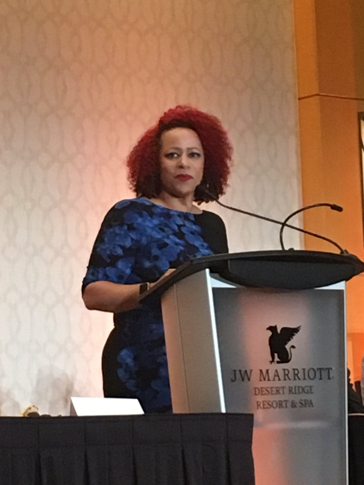 """I come to you today from the Failing New York Times, and I've never been so proud to be part of a failure,"" says @nhannahjones #ire17 https://t.co/wrUE2dqMBJ"