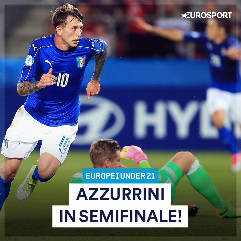 #ItaliaGermania #U21EURO finisce 1-0 (Bernardeschi) e gli azzurrini so...