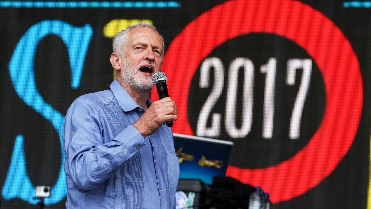 Jeremy Corbyn calls for unity at Glastonbury https://t.co/uyJzgQLNIO