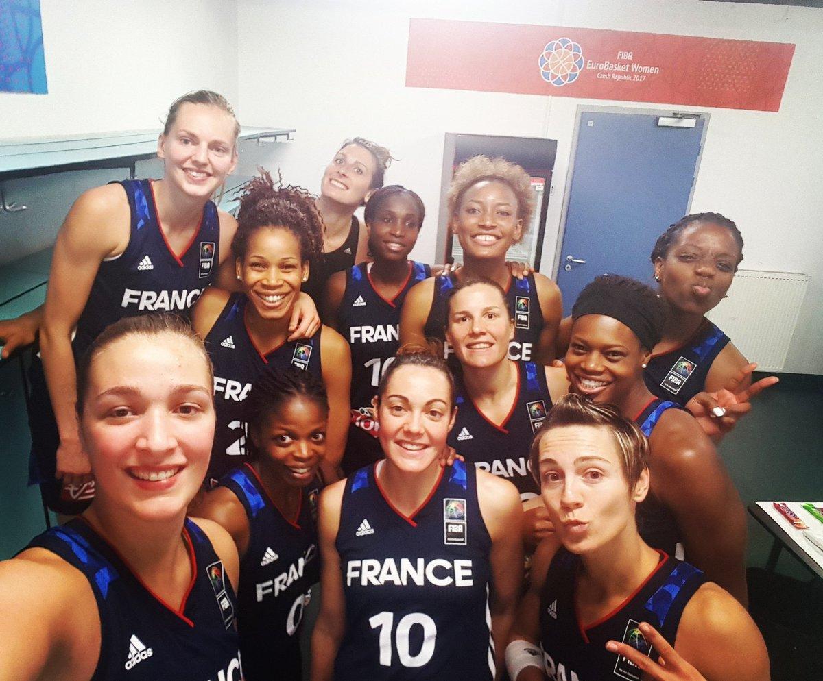 EN FINALE !!! 🇫🇷  #EuroBasketWomen2017 https://t.co/GegaOCA9iP
