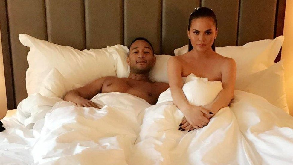 Chrissy Teigen has leaked her own private texts to John Legend https://t.co/eqOOqDp2Wj