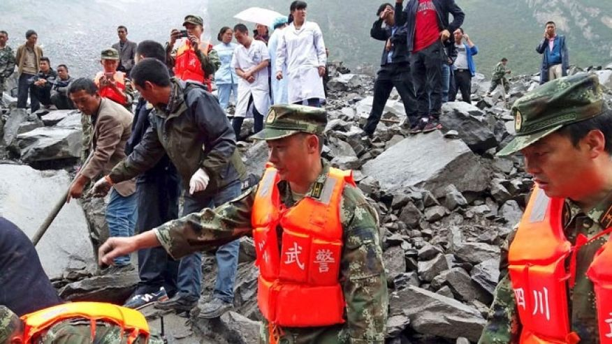 Over 120 people buried by massive southwest China landslide #FoxNewsWorld  https://t.co/QUiwxnoWoS