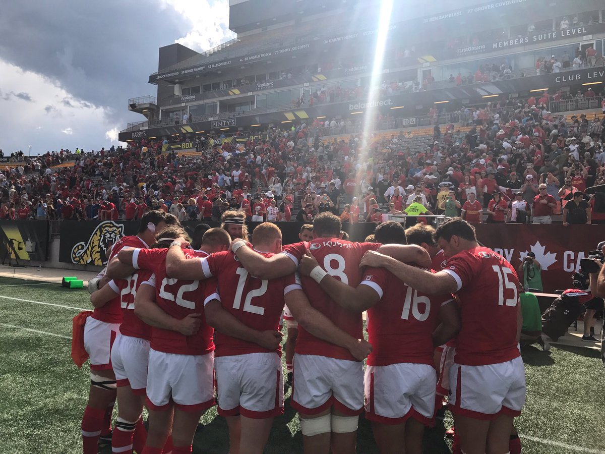 What a shift put in by these men today #RISEAsOne #RC15s 🇨🇦🏉 https://t...