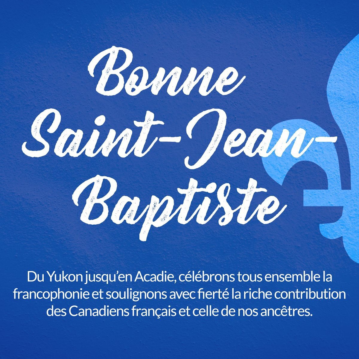 Bonne #SaintJeanBaptiste! ⚜️⚜️ Happy Saint-Jean-Baptiste Day! https://...