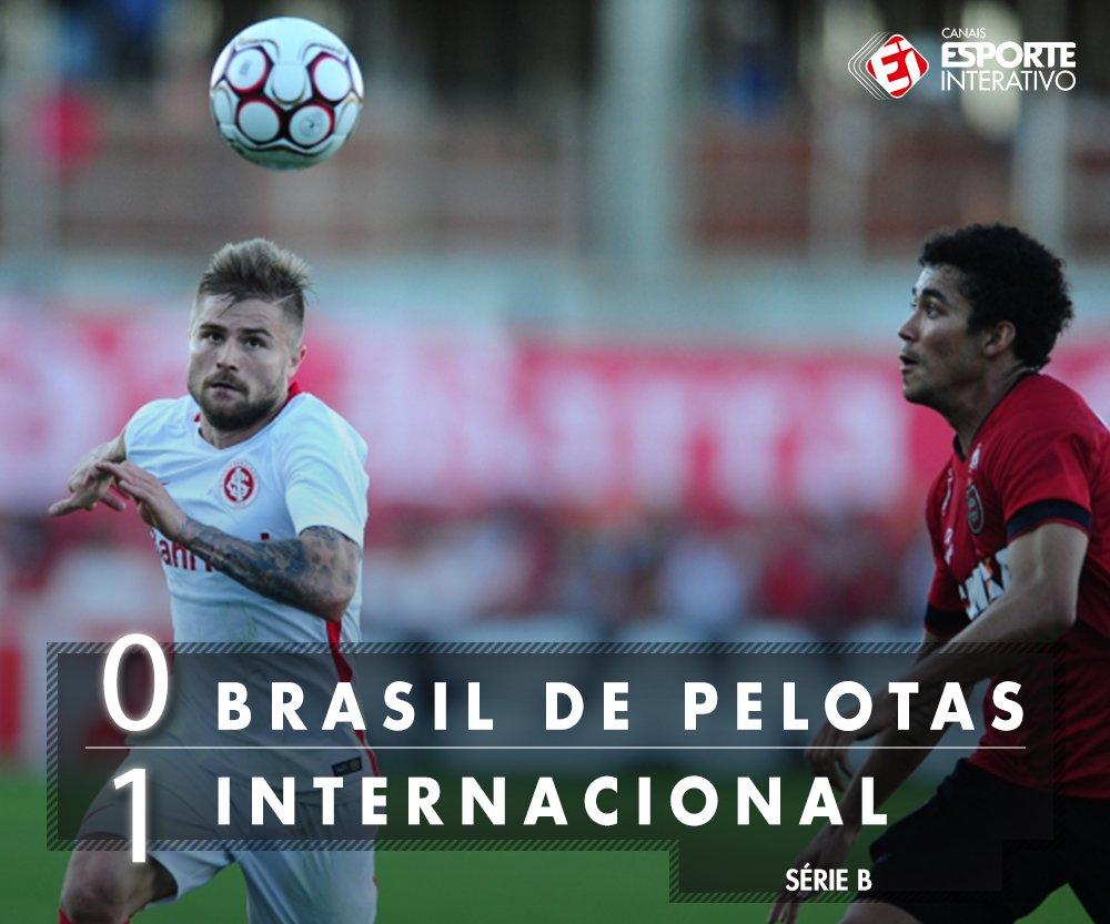 FIIIIM DE JOGO! Fora de casa, o @SCInternacional supera o Brasil de Pe...