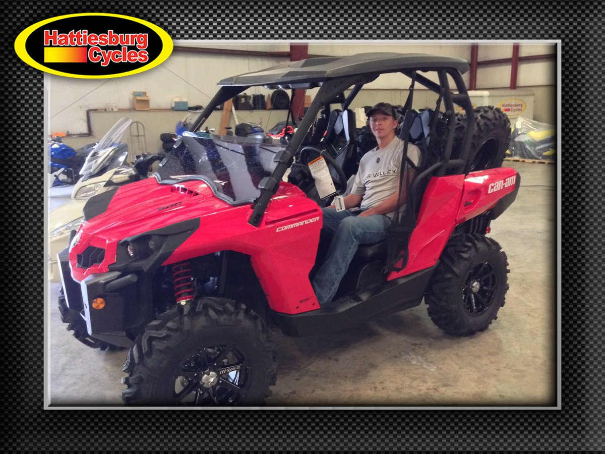 Thank you Landon Nichols from Laurel MS for getting a 2017 Can-Am Commander 800 #canam <br>http://pic.twitter.com/bDfxCdUwA6