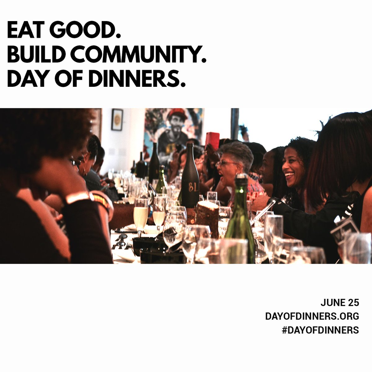 Tomorrow, we'll come together at dinner tables to form bonds that bring us closer. Pull up a chair: https://t.co/m2hrlAjoVT #DayofDinners