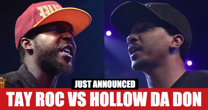 BREAKING: Hollow Da Don vs Tay Roc Announced For @URLTV's Summer Madne...