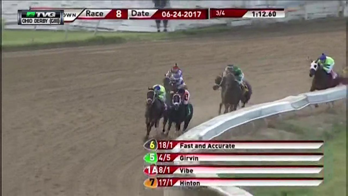 Congrats to Keenland Grad Irap who takes the G3 Ohio Derby. https://t....