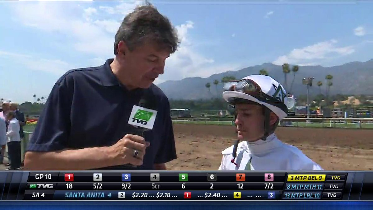 Kurt Hoover catches up with winning jockey, Flavien Prat on his winnin...