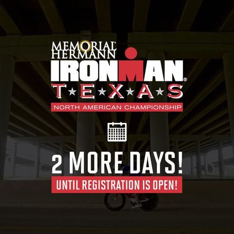 Just ✌🏼more days until registration opens for #imtexas and #imboulder! Set a reminder, and secure your spot Monday at noon EST!