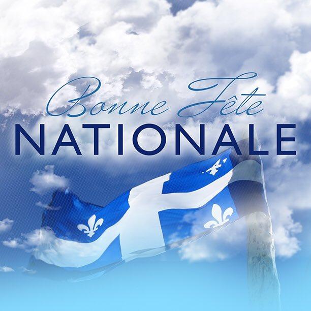 Bonne anniversaire #Québec ️💙 #FêteNationale #PolQc #Sherbrooke https:...