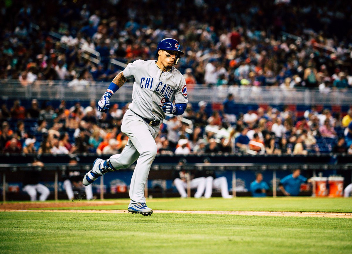 .@javy23baez doubles home @Addison_Russell and @ihapp_1 to take back t...