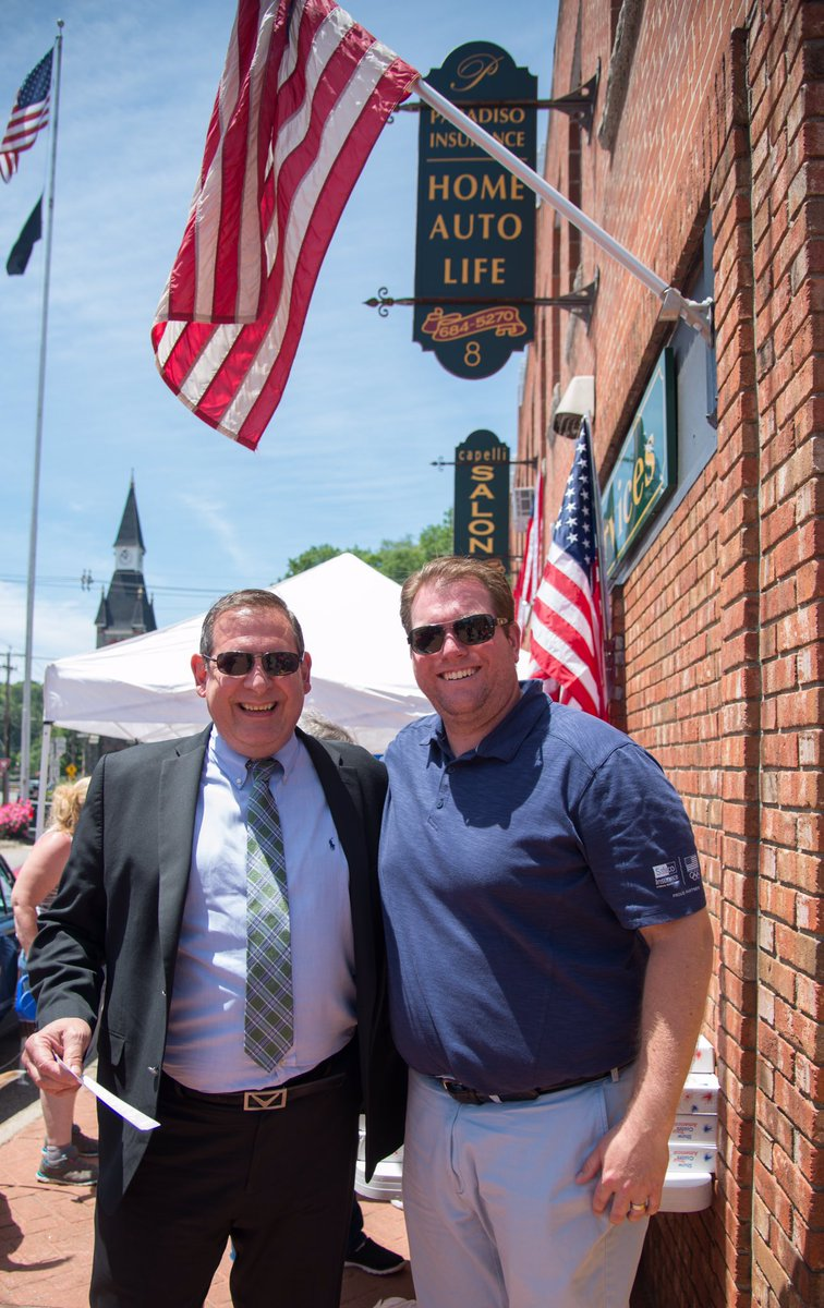 Thanks to Marty and Jim from @Safecoinsurance for helping us out and partnering with our agency on #FlagDay <br>http://pic.twitter.com/NMawgxtbaO