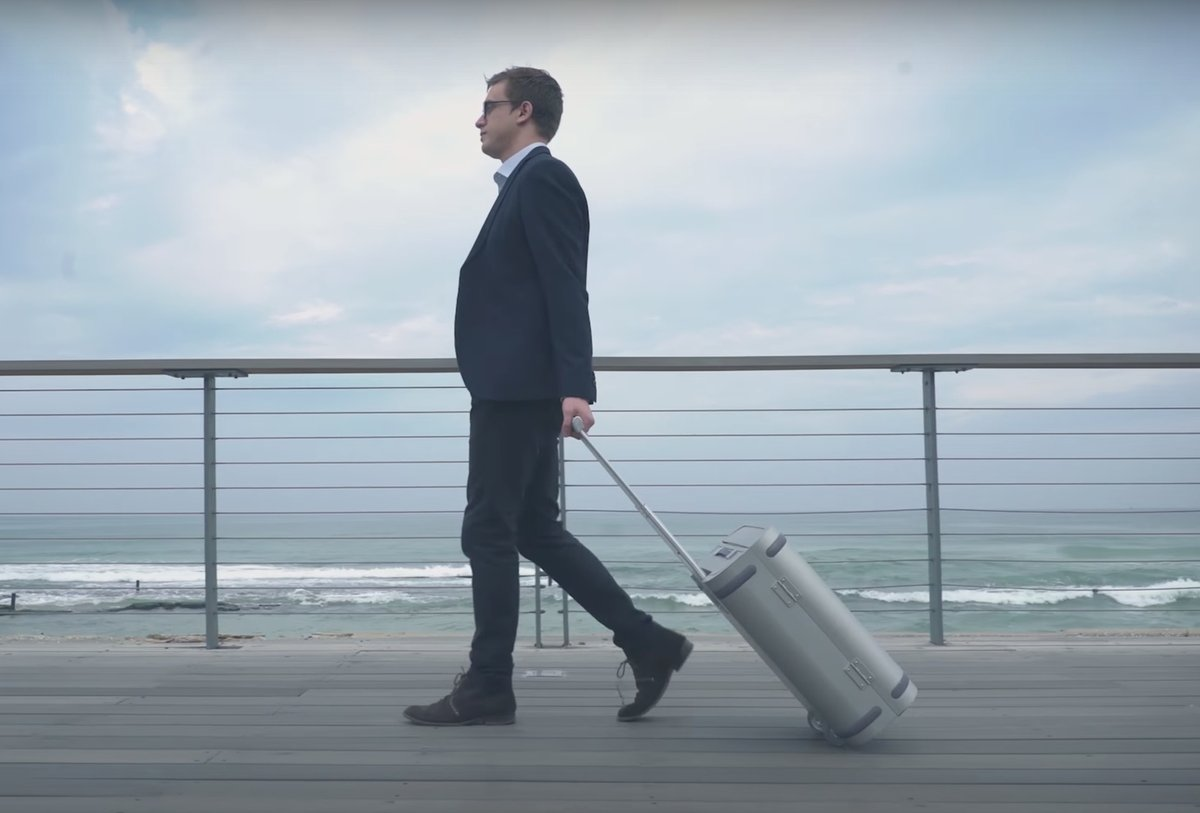 Samsara's smart suitcase is 5x overfunded on Kickstarter, but not because of its tech