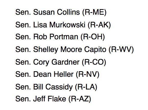 These senators are leaning 'no' on #TrumpCare. Don't wait until it's too late. CALL 202-224-3121