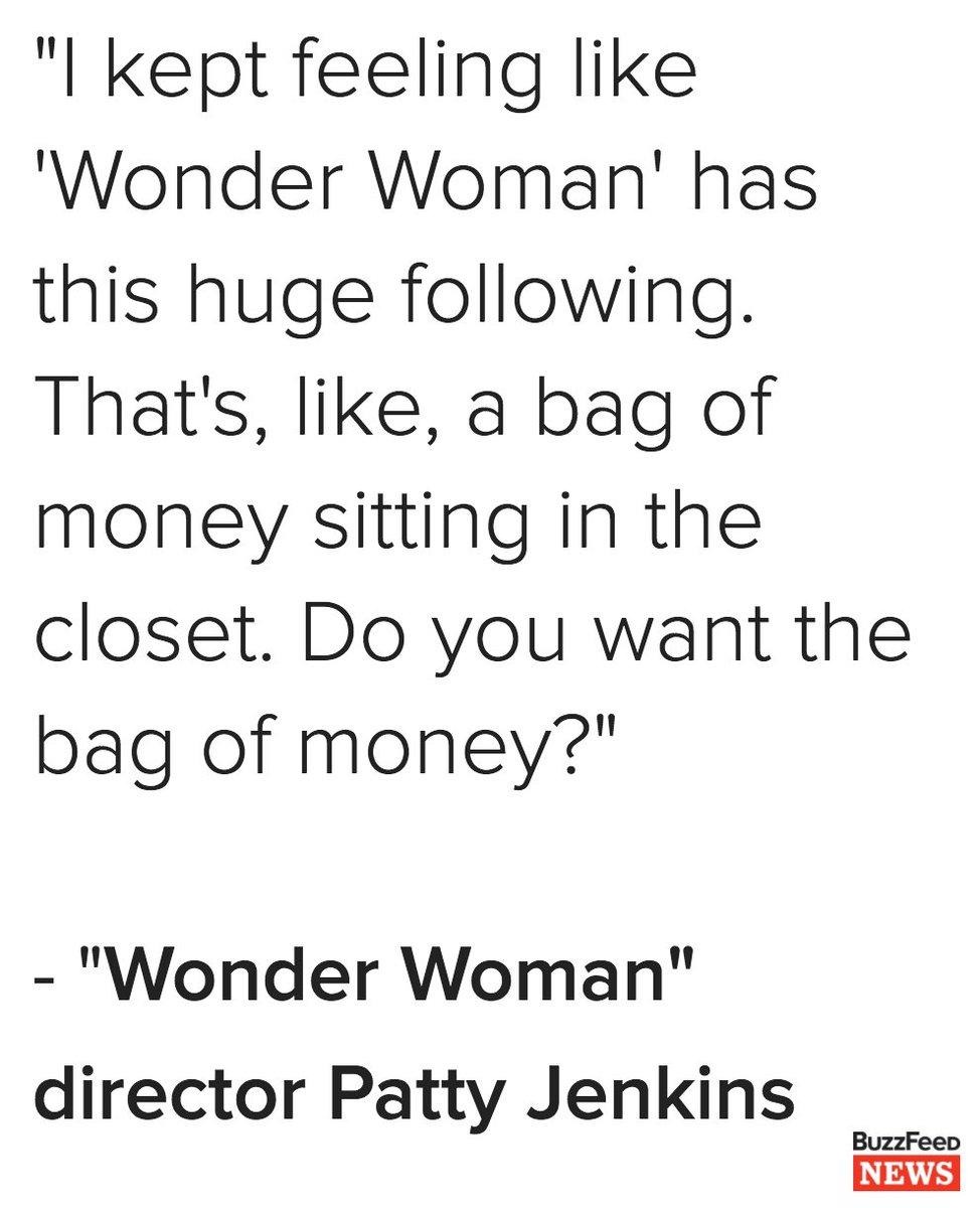 9 things director @PattyJenks has learned from the smashing success of #WonderWoman https://t.co/zrAgX6rZzJ