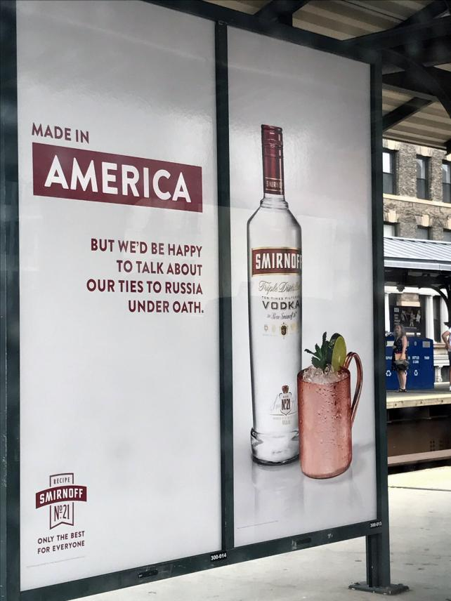 'An Acceptable Risk': Why Smirnoff's Trump-trolling didn't backfire https://t.co/rBqxf0N1CT https://t.co/aFcOyjyftp