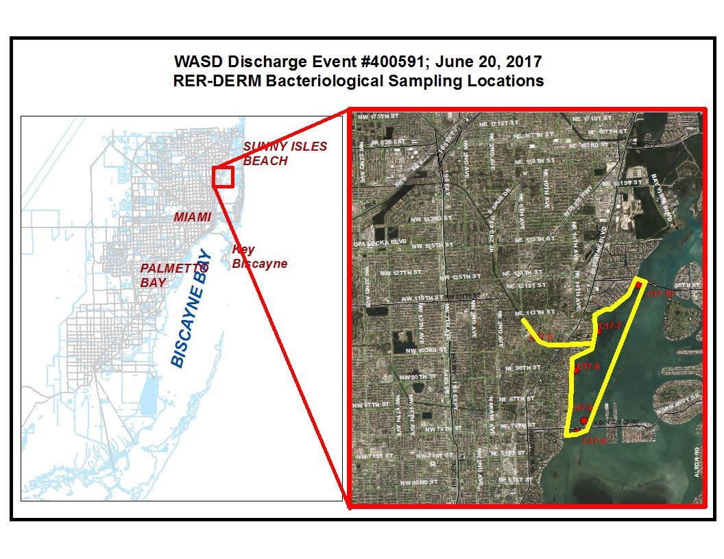 "Miami-Dade WASD on Twitter: ""No contact w/water advisory bound red. https://t.co/U9YWbQLikT @nbc6 @CBSMiami @wsvn @WPLGLocal10 @Telemundo51 @Univision23 ..."