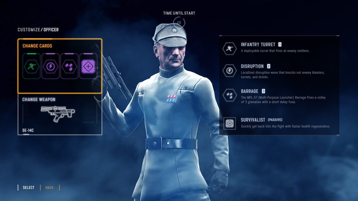 Cinematic Captures On Twitter Star Wars Battlefront II Imperial Officer Class Concept Creation Tco CfsC9Oeq9Y Via YouTube
