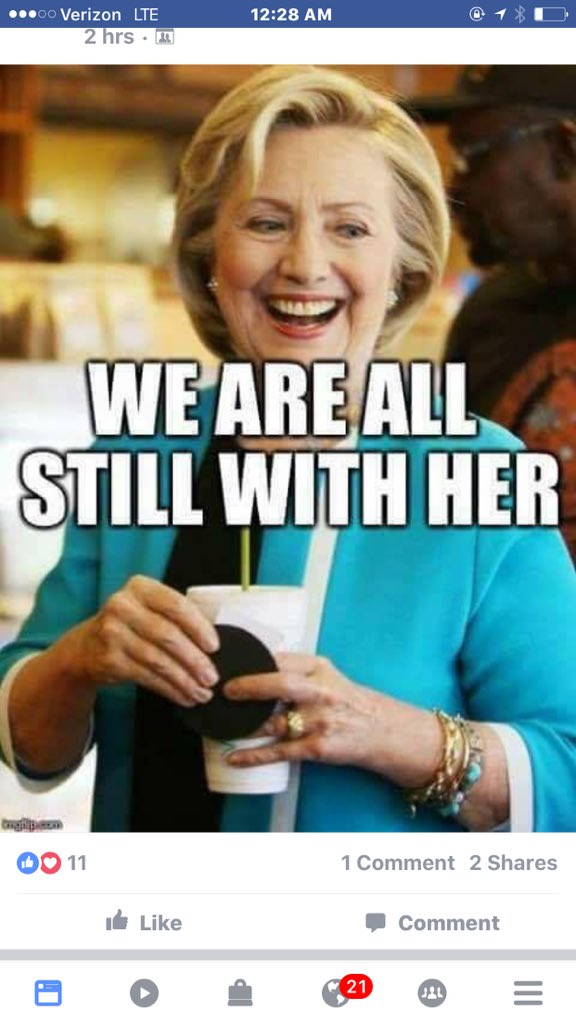 Yes, almost 66 M are #StillWithHer &amp; will NOT vote 4 #NeverBernieSanders<br>http://pic.twitter.com/P42mpFUFDJ