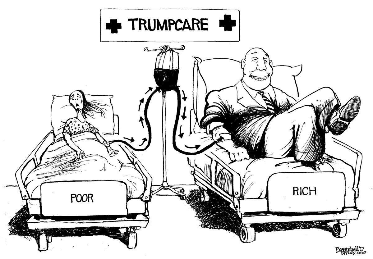 We can&#39;t let the #GOP force 23 million people in to life/death decisions so that the rich get richer. #FollowBackResistance #HealthcareBill<br>http://pic.twitter.com/1UAjm20A53