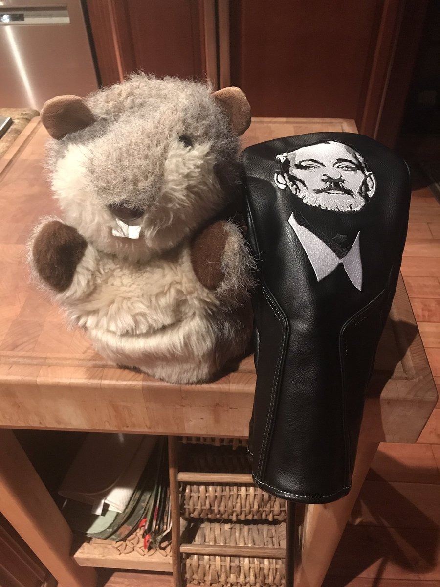 Sry #Caddyshack gopher...had a good run  #BFM #ZFG #KCCO #Chiveon @theCHIVE thank you @TheChivery for a badass head cover! Gunga-lagunga<br>http://pic.twitter.com/ysvqeckE43