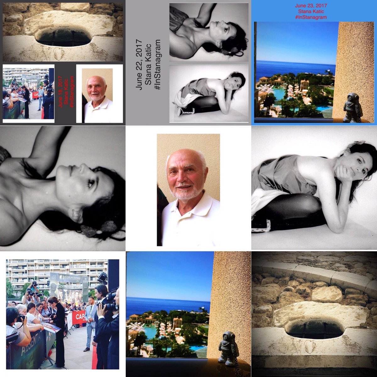 #StanaKatic rewind SK gave us 6 fabulous fotos &amp; 1 video on #InStanagram then she hit Facebook &amp; Twitter for the week of June 18 -24 TY SK <br>http://pic.twitter.com/hEyEzF33kY