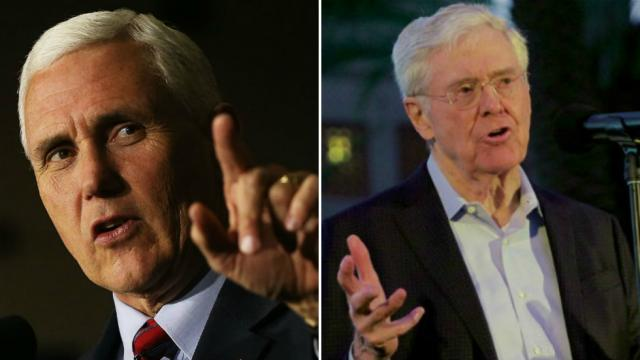 Pence holds unscheduled meeting with billionaire Koch brother during Colorado trip https://t.co/f4cpLMFJ1y